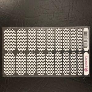 Brand New White & Black Polka Dot Jamberry Wraps